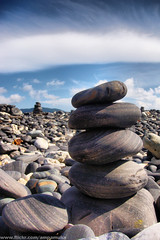 Rock Pile At Hin Ngam , Beach Satun , Thailand /  (AmpamukA) Tags: beach beautiful rock stone island pile thai koh hin tarutao  stul ngam    platinumheartaward  100commentgroup ampamuka