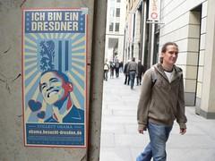 Barack in Dresden (Sven1976) Tags: dresden saxony sachsen obama barackobama barack obamania