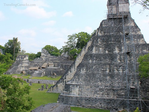 Mayan Temples in Tikal National Park, Guatemala