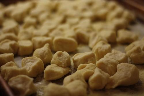 Gnocchi Dough Cut