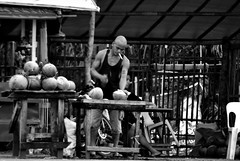 buko vendor (marbleplaty) Tags: nikon boulevard may coastal solo bicol puro daraga legazpi albay 2011 d90 d80 dapdap marbleplaty paoloarroyo