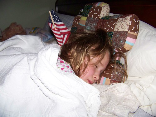 C6 Sleeping with Flag