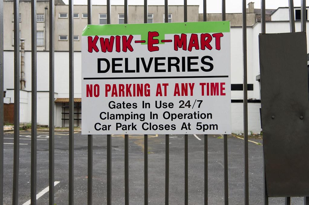 Kwik-E-Mart In Limerick
