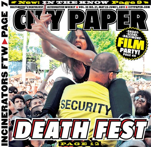citypaper death fest cover