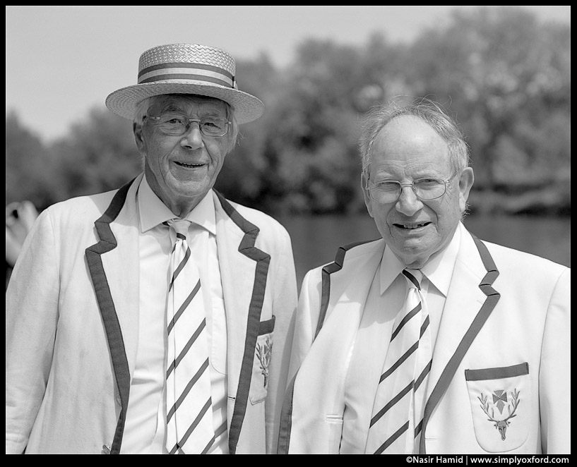 Formal boat race uniform