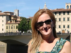 Patricia along the Arno River