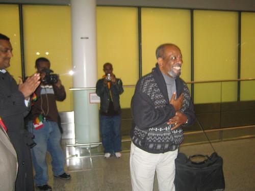 Debebe Eshetu's Toronto Arrival