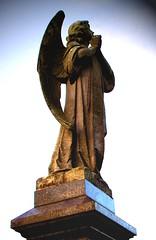look homeward angel (annette62) Tags: sky cemetery statue angel newcastle carving garve elswick