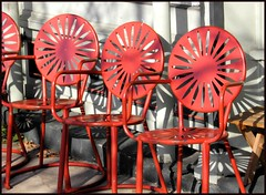 sunburst chairs