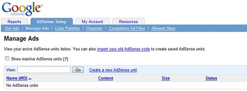 Ad Management in AdSense