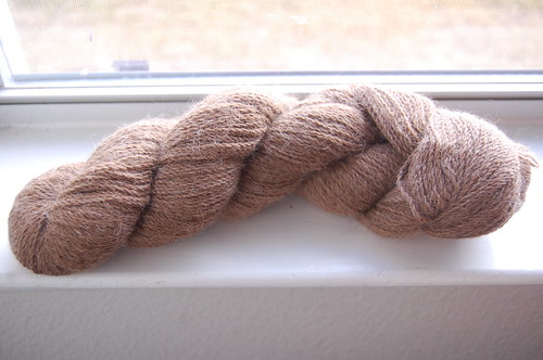 undyed light brown alpaca