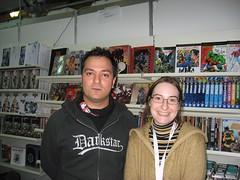 Claudio Sciarrone e Manuela Soriani