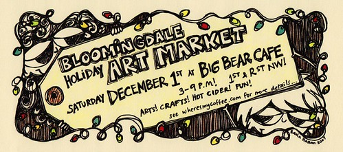 Bloomingdale Art Market!