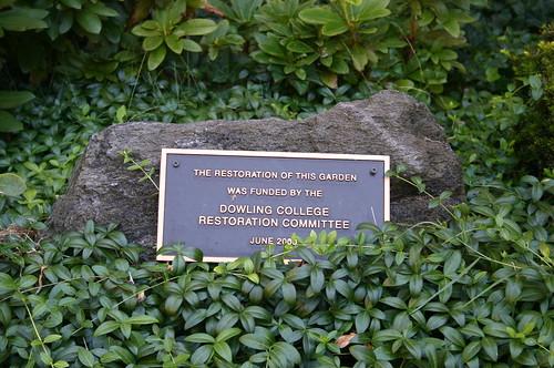 Courtyard Garden Plaque
