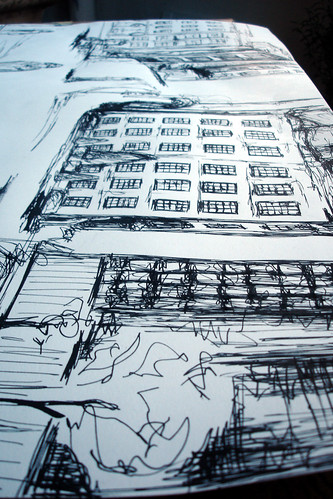 CITY scribbles - neighborhood - 01 -