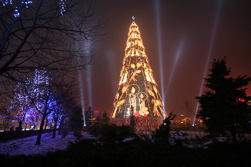Biggest Christmas tree in Europe