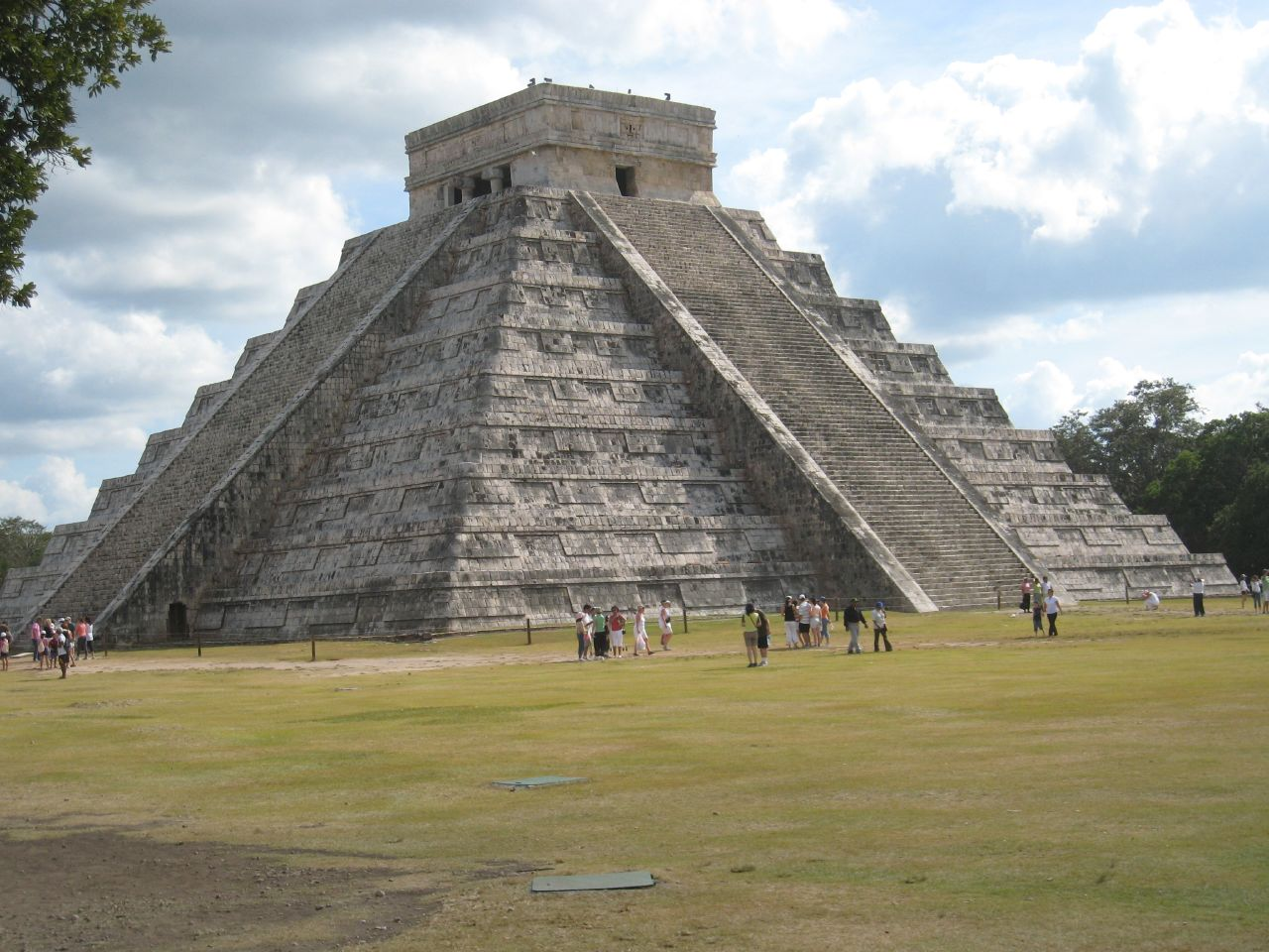 El Castillo - Temple of Kukulkan