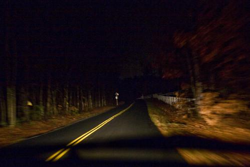 yay creepy road!