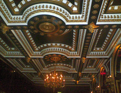 Ceiling in The Voodoo Rooms bar, Edinburgh