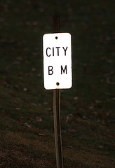 BM (Toonie52) Tags: park city sign iowa bm davenport creditisland thebiggestgroup noexplanation 10millionphotos citydatumbenchmark