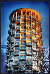 New building (Kaj Bjurman) Tags: eos artistic sweden stockholm expression sverige 2008 hdr kaj cs3 stermalm artisticexpression photomatix 40d bjurman goldstaraward