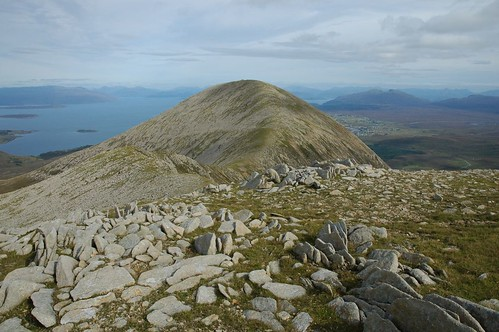 Beinn na Caillich and Broadford in the distance