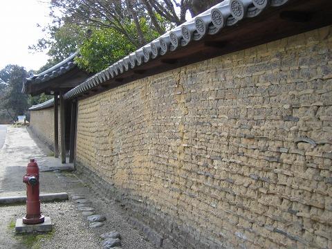 東大寺-土壁
