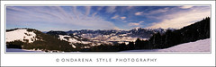 Winterpanorama (G.Hotz Photography (busy as a bee =)) Tags: autumn winter summer panorama mountain lake snow alps macro art nature berg austria photo dornbirn feldkirch sterreich spring foto fotograf fotografie sommer kunst sony herbst natur hard picture bregenz tourist hobby gerald photograph photoraphy tele 100 alpha 2008 bodensee soe constance wandern tourismus bludenz frhling fruehling oesterreich vorarlberg markro bregenzerwald hotz mywinners abigfave diamondclassphotographer bersteigen ondarena