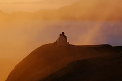 Lovers at Mount Bromo @ sunrise (Tempo Dulu) Tags: love sunrise indonesia volcano java valentine bromo february14 eastjava 14february