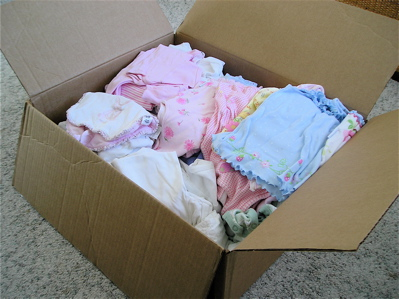 Box O Baby Clothes