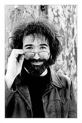 Jerry Garcia portrait by Richard E. Aaron.  Taken in New York City's Central Park.  Year unknown to me as of this posting.