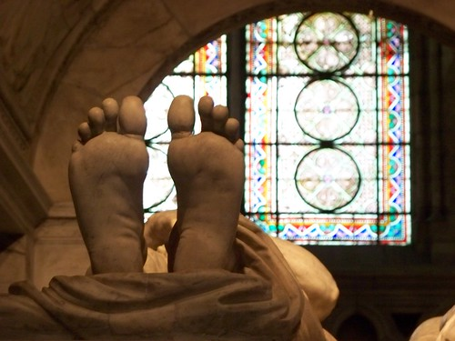The Weirdly Articulate Marble Feet of Dead King Francois I
