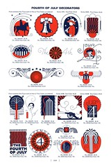The 4th (Depression Press) Tags: blue red usa white silhouette illustration america vintage print logo stars typography design us 1930s election day graphic eagle drawing united president politics 4th july ornament seal badge printing spindler americana states independence 4thofjuly letterpress republican patriotism fourth democrat cuts specimen ballot barnhart 2008election depressionpress typecut typecuts