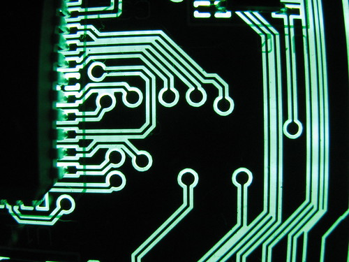 green circuit board I