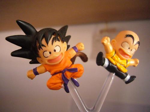 Son Goku i Krilín