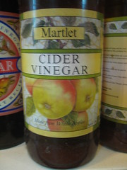 Martlet cider vinegar