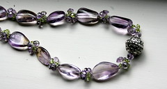 Ametrine, Amethyst, and Peridot Necklace