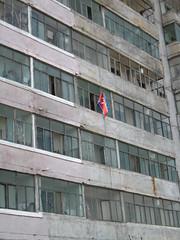 Korean flag - Pyongyang - North Korea (T.h.o.m.a.s) Tags: kimjongil nk axisofevil pyongyang dictatorship corea dprk coreadelnorte juche kimilsung dictature kimjungil coredunord    axedumal rdpc northkoreagirl