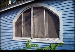 in pictures it's still there (natalie.nygren) Tags: illinois natalienygren littlebluehouse withacoolwindow takenformymother along251inmachesneypark