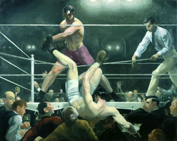 Dempsey y Firpo - George Bellows