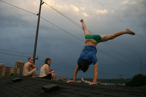 Rooftop Lightning Party
