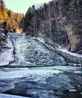 Buttermilk Falls, February 2017