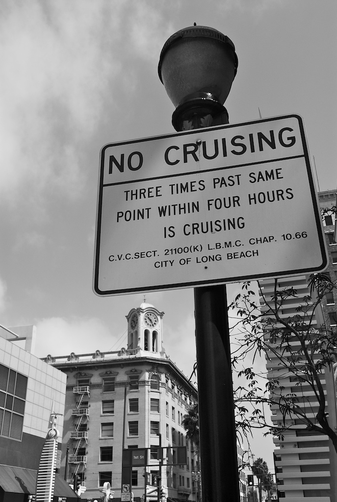 no cruising