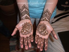 Eileen_ bridal_ henna (Akiyohenna) Tags: party tattoo bride hands indian pakistani bridal henna mehendi mehndi specialoccasion mehandi akiyohenna temporarybodyart
