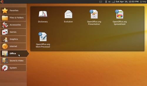 Ubuntu Netbook Remix az Asus Eee PC 1001HA-n