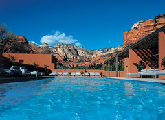 Mii amo Outdoor Pool (hawkinsinternationalpr) Tags: vacation destination spa resort arizona destination retreat vacation spa luxury vacation spas destinations spa sedona