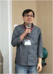 中研院社會學研究所張國暉博士。