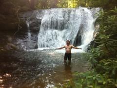 The Padre at False Black Falls