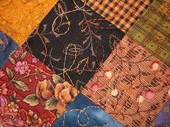 fall doll quilt quilting