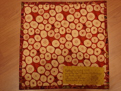 fall doll quilt back